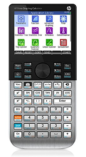 HP Prime Calculatrice graphique multipoints écran...