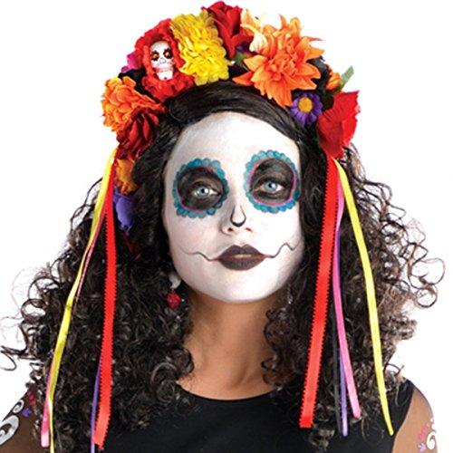 amscan Halloween Haarband HAARREIF Tiara Der Tag