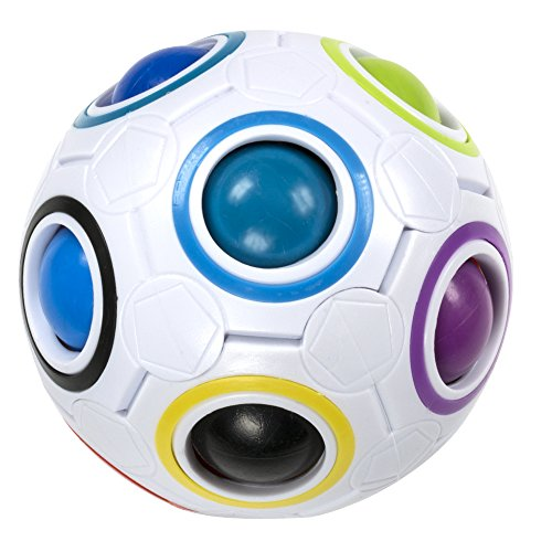 Preisvergleich Produktbild SPECOOL Magic Ball Cube Twist 3D Puzzle Football Type for Children and Kids