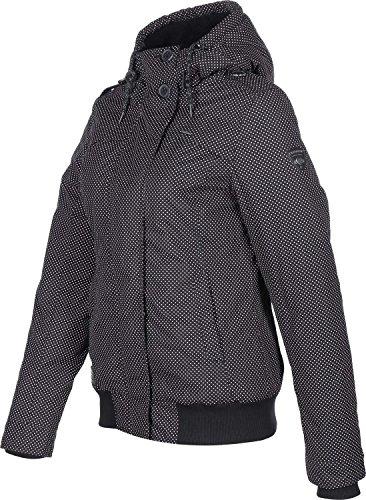 Ragwear Ewok Minidots Jacket Light Blue Schwarz
