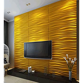 Inreda 3D Wall Panels Dining Room Living Room Bedroom Feature Wall Decor (2  Square Metres Part 52
