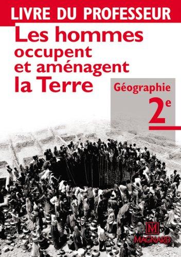 Géographie 2e : Livre du professeur par Jacqueline Jalta