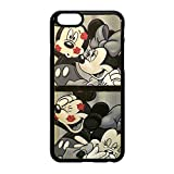 Coque Etui Cover caoutchouc Pour Samsung Iphone Mickey minnie Mouse amour bisous (IPHONE 6/6S)