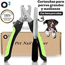 O³ PETS Cortauñas Perro Grande y Mediano Con Lima – Para Mascotas Domesticas | Cortauñas Perro