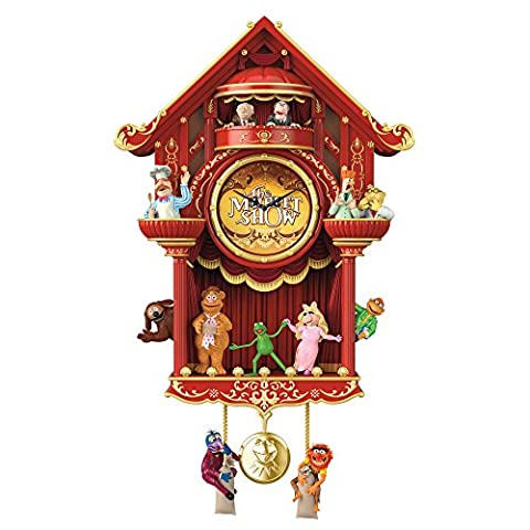Disney 'The Muppet Show' Cuckoo Clock By The Bradford