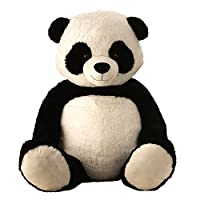 Lifestyle & More Giant Teddy Bear Panda Panda Bear Cuddly Bear XXL 150 cm big Plush bear cuddly toy velvety soft - to love