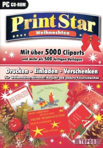 Print Star - Weihnachten