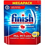 Finish All-in-1 Max Lemon Dishwasher 90 Tablets