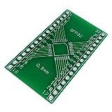1pcs QFP32 a DIP32 Pinboard adattatore SMD a DIP 0,8 millimetri Pin Pitch Compact Peso luce portatile