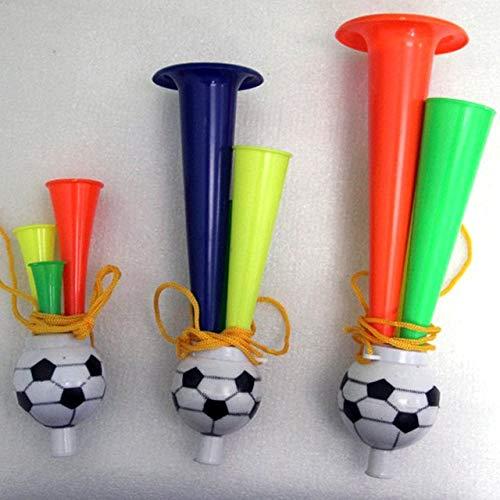 l der Cheering Toys Fußball Konzertfans Sport Horn Spielzeug 13.5cm ()