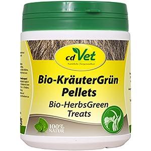 cdVet Naturprodukte Bio-KräuterGrün Pellets 400 g