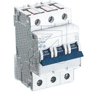 ABL Sursum C16S3°C-Type 3P Circuit Breaker–Short Circuit (230/400, blue, white)