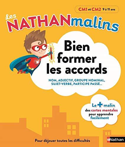 Français : bien former les accords au CM1 et CM2 - Nathan Malins 9/11 ans