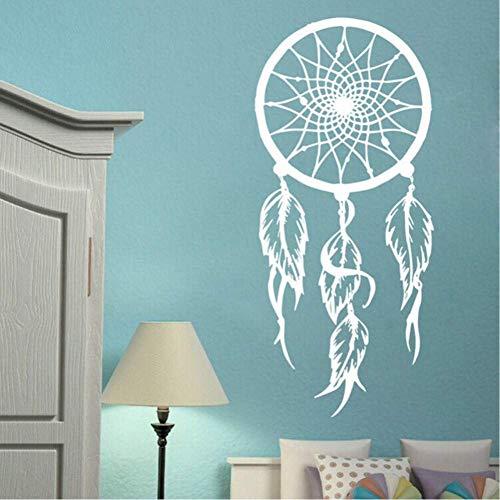 Vinilo Atrapasueños Etiqueta De La Pared Símbolo Amuleto Etiqueta De La Pared Hogar Sala De Estar Decoración Extraíble Dreamcather Mural 42 * 86 Cm