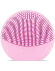 FOREO LUNA Play Brosse Lissante Visage Pearl Pink, Appareil Sonique Du Soin De La Peau, Portable Et Étanche