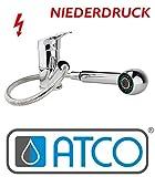 ATCO® Niederdruck Einhandmischer Spültischarmatur Küchenarmatur Brause Ausziehbar