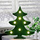 Süße LED Nachtlicht Stimmungslicht Weihnachtsdeko Tischdeko Wanddeko Tischlampe Deko von Babyzimmer Kinderzimmer Dekorationen Weihnachts Geschenke von Colleer (Weihnachtsbaum)