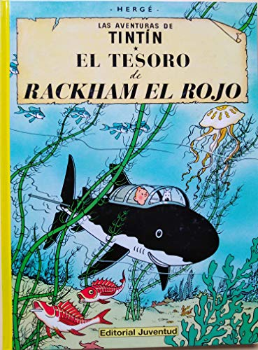 Tesoro De Rackham El Rojo, El Herge-Tintin Cartone Ii Azeta. (Distrib.)