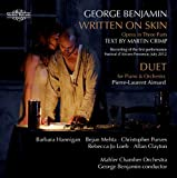 George Benjamin, Written on Skin, Duet for Piano and Orchestra (2 CD set)
