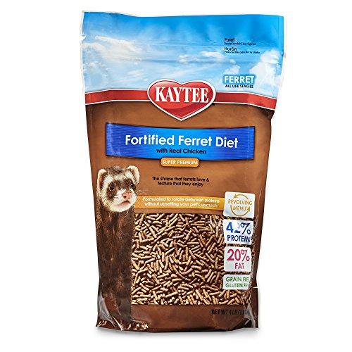 Kaytee Ferret Diet with Chicken, 4-lb Bag