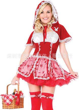 Gorgeous Rotkäppchen -Spiel Uniformen Halloween-Party Kostüme Märchen Cinderella Geschmack ()