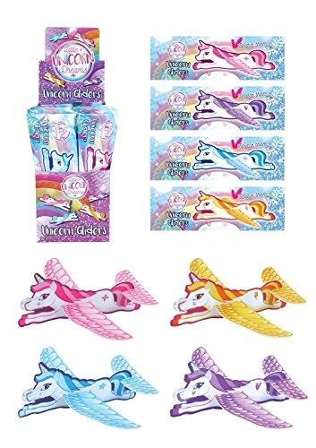 Lizzy® Deluxe-Flugzeug Gleiter für Kinder Geburtstag Party Tasche für Pinata Füllung Pony Spielzeug