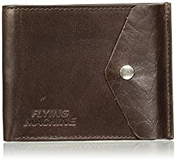 Flying Machine Dark Brown Mens Wallet (FMAW0221)