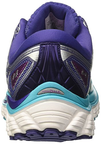 Brooks Ladies Glycerin 14 W Scarpe Da Corsa Turchese (scubablue / Navyblue / Purplecactusflower)