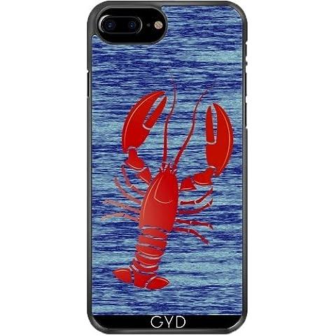 Custodia in silicone per Iphone 7/7S Plus - Aragosta by (Lobster Personalizzato)