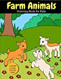 Farm Animals Coloring Book for Kids: 2x Images for Double Fun, 50 Large Coloring Pages (Larger than Most!): Volume 7