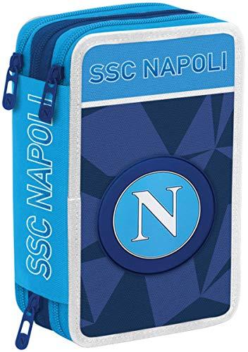 SSC Napoli Napoli Sprint Federmäppchen 20 Centimeters Blau (Dresden Blue)