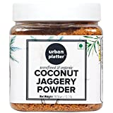 #1: Urban Platter Organic Coconut Jaggery Sugar Powder, 350g