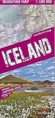 ICELAND (GB) 1/500.000