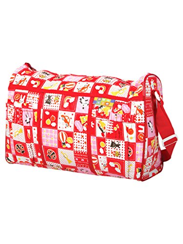 Mee Mee Multifunctional Diaper Bag with Pockets (Red)