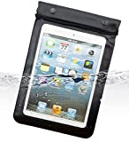 Dolder wasserdichte Tasche Hülle für Apple iPad mini 1/2/3/retina und andere 8~8.9 zoll Tablet PCs,Samsung Galaxy Tab S,GALAXY Tab 3 8.0,GALAXY Tab 4 8.0,Galaxy Tab Pro 8.4,Galaxy Note 8.0,Asus MeMO Pad 8,Fonepad 8,VivoTab Note 8,Lenovo,S8,Yoga Tab 8,Yoga Tab2 8.0,S8,Huawei Honor Tab S8,MediaPad M1,Dell Venue 8 Pro,Acer W4,LG G Tablet 8.3,Odys Junior Tab 8 Pro, etc., in schwarz.