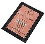Cuero tarjetero para documento de identidad en cuero de beccero o cuero de búfalo MJ-Design-Germany en diferentes colores (Búfalo Negro)