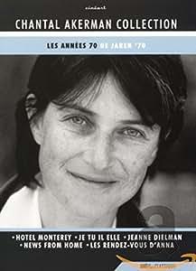 Chantal Akerman Collection ( Hôtel Monterey,Je, tu, il, elle,Jeanne Dielman, 23 Quai du Commerce, 1080 Bruxelles,Briefe von zu Haus,Les Rendez-vous d'Anna )  [English subtitles] [DVD]