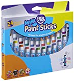 Little Brian LBPS05MCMDA24 Mini Paint Sticks-24 Assorted Colours