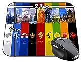 Juego De Tronos Casas Game Of Thrones Houses A Alfombrilla Mousepad PC