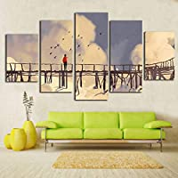 OLAJSDD style leisure life canvas painting for living room frameless DIY paintings decorative poster and prints