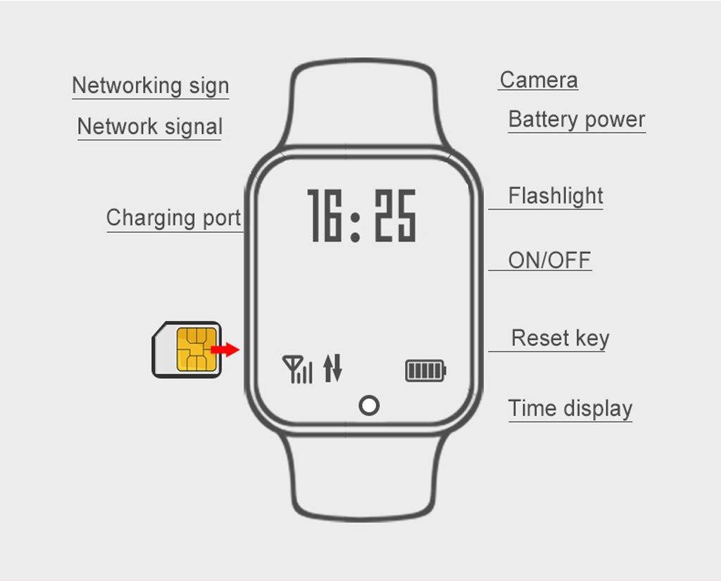 BOBOLover Smartwatch Niños, Reloj Inteligente para Niños Impermeable ip67 con LBS, Hacer Llamadas, Chat de Voz, SOS… 2