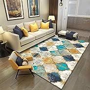 سجادة لغرفة المعيشة، سجاد لغرف النوم مستطيل ناعم الملمس 140 × 200 سم