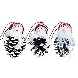 3 PCS/Set Weihnachtsdekor-Weihnachtsbaum-Anhänger für Hauptfestivals