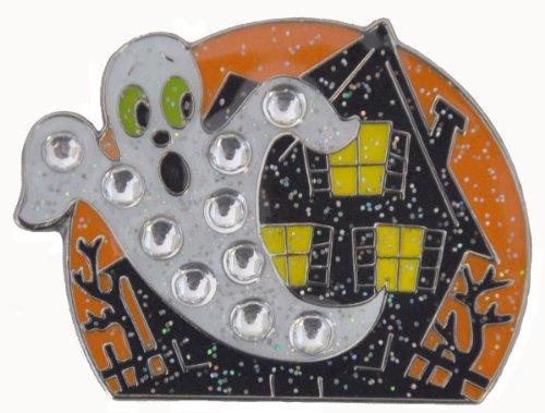Navika Spooky Haunted House Swarovski Kristall und Glitz Ball Marker, mit Hut-Clip Preisvergleich