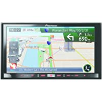 Pioneer AVIC-F50BT 7 inch Motorised Touchscreen Car CD/DVD/GPS Navigation System with Bluetooth/AppRadio Mode