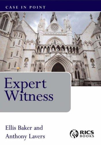 Expert Witness (Case in Point) by Ellis Baker (2005-08-30)