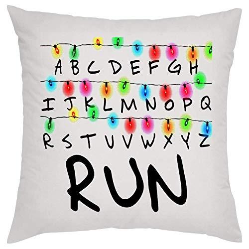 Run Stranger Things Alphabet Kissen Pillow -