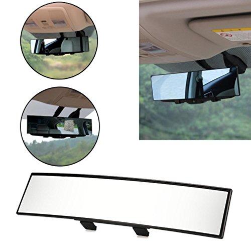 hunpta Universal Große Vision Auto Proof Spiegel Outlook Innen Auto Weitwinkel Innen Rückspiegel, schwarz -