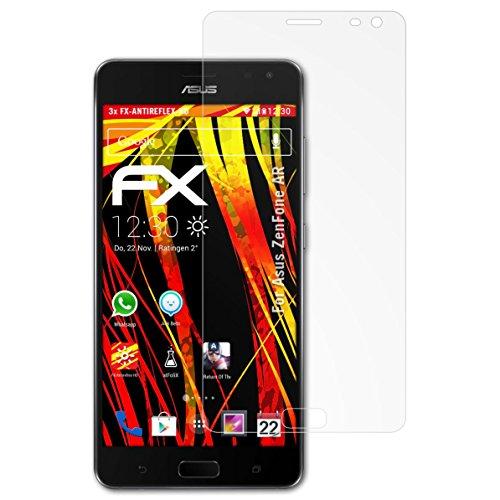 atFolix Schutzfolie kompatibel mit Asus ZenFone AR Bildschirmschutzfolie, HD-Entspiegelung FX Folie (3X)