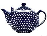 Original Bunzlauer Keramik - sehr große Teekanne